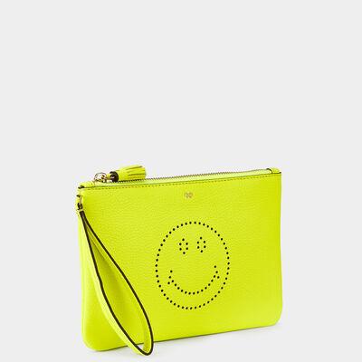 Smiley Zip-Top Pouch