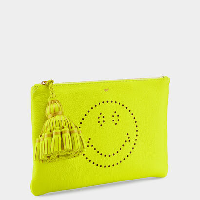 Smiley Georgiana clutch