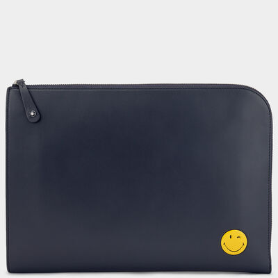 Wink Document Case by Anya Hindmarch