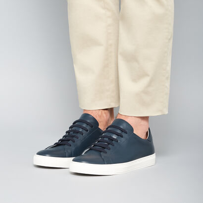 Men's Smiley Sneakers in {variationvalue} from Anya Hindmarch