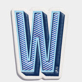 W Sticker by Anya Hindmarch