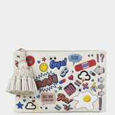 All-Over Stickers Wink Georgiana by Anya Hindmarch
