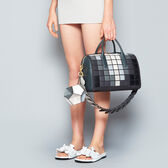 Giant Pixels Vere Barrel in {variationvalue} from Anya Hindmarch