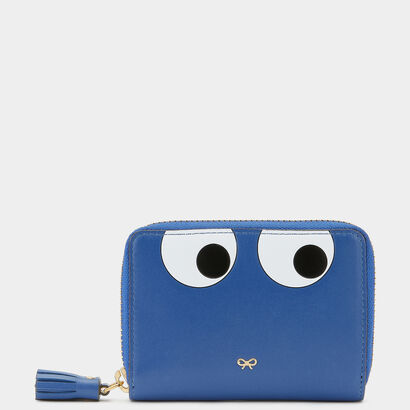 Small Eyes Zip-Around Wallet by Anya Hindmarch
