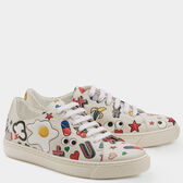 All Over Stickers Sneakers by Anya Hindmarch
