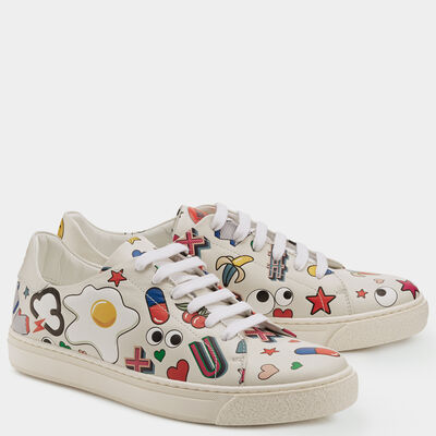 All Over Stickers Sneakers