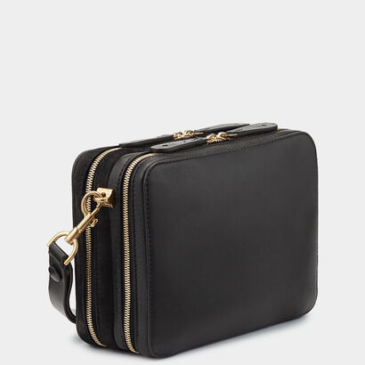 The Stack Double Cross-Body by Anya Hindmarch