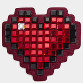 Heart Diamante Sticker