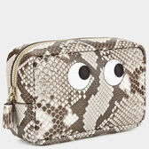 Eyes Make-Up Pouch in {variationvalue} from Anya Hindmarch