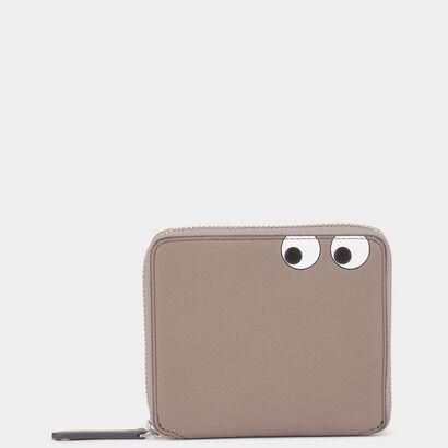 Men's Eyes Zip-Around Wallet by Anya Hindmarch
