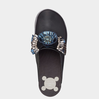 Diamante Circulus Clogs by Anya Hindmarch