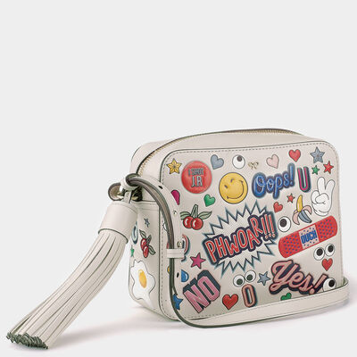 All Over Sticker Cross-body by Anya Hindmarch
