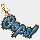 Oops Key Ring by Anya Hindmarch