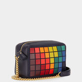 Giant Pixels Mini Cross-Body  in {variationvalue} from Anya Hindmarch