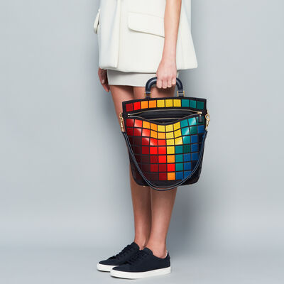 Giant Pixels Orsett in {variationvalue} from Anya Hindmarch