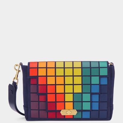 Giant Pixels Bathurst Cross-Body  by Anya Hindmarch
