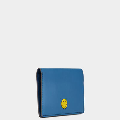Smiley Folded Card Case