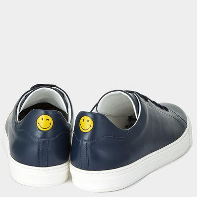 Men's Smiley Sneakers by Anya Hindmarch
