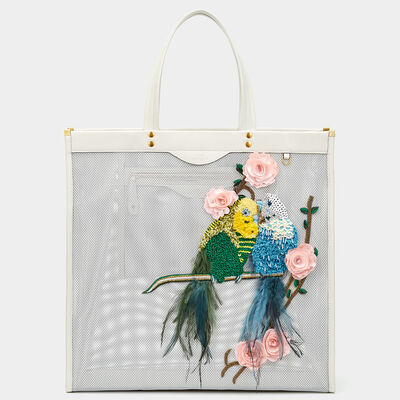 Budgie Mesh Tote by Anya Hindmarch