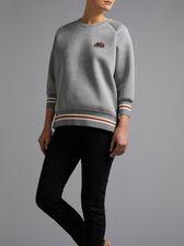 Diamante Rainbow Sweatshirt by Anya Hindmarch