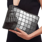 Giant Pixels Georgiana Clutch by Anya Hindmarch
