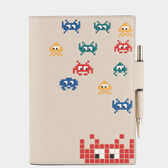 Space Invaders A5 Two-Way Journal