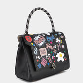 All Over Sticker Small Bathurst Satchel