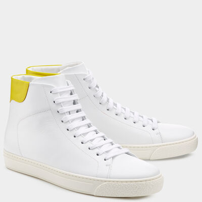 Men's Smiley High Tops by Anya Hindmarch