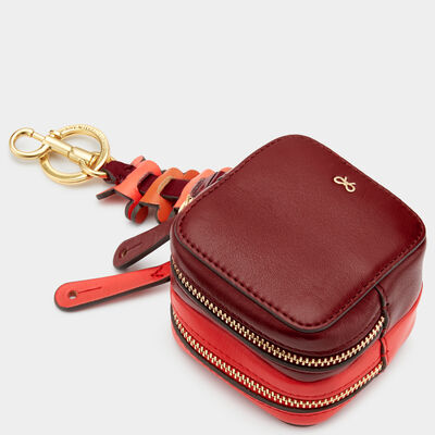 Circulus Double-Zip Coin Purse by Anya Hindmarch