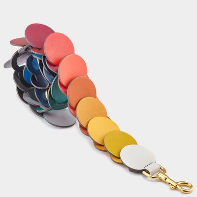 Circle link shoulder strap by Anya Hindmarch