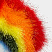 Rainbow Fur Sticker in {variationvalue} from Anya Hindmarch