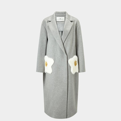 Eggs Oversized Coat