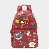 All Over Sticker Mini Backpack