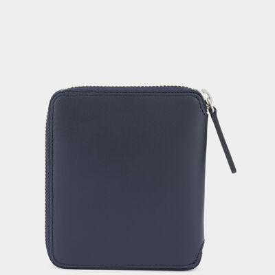 Men's Smiley Zip-Around Wallet by Anya Hindmarch