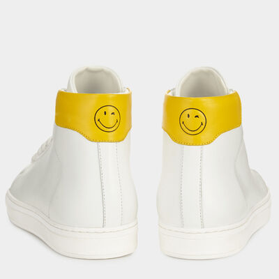 Smiley Wink High-Tops by Anya Hindmarch