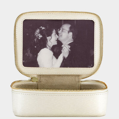 Bespoke Medium Secret Photo Keepsake Box by Anya Hindmarch