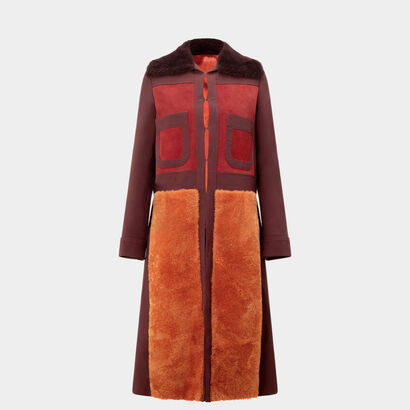Long 70s Coat by Anya Hindmarch
