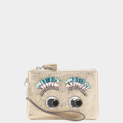 Eyes Small Wristlet by Anya Hindmarch