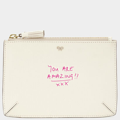 Small Bespoke Loose Pocket in {variationvalue} from Anya Hindmarch