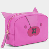 Fox Make-Up Pouch by Anya Hindmarch