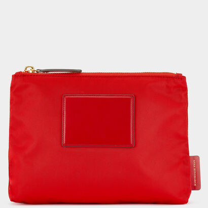 Zip Top Pouch by Anya Hindmarch