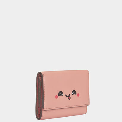 Kawaii Tri-Fold Wallet by Anya Hindmarch