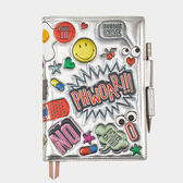 All-Over Stickers A5 Two-Way Journal