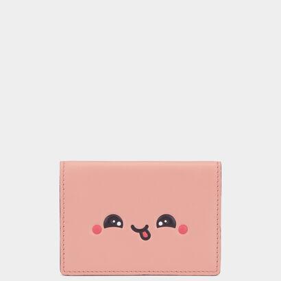 Kawaii folded card case