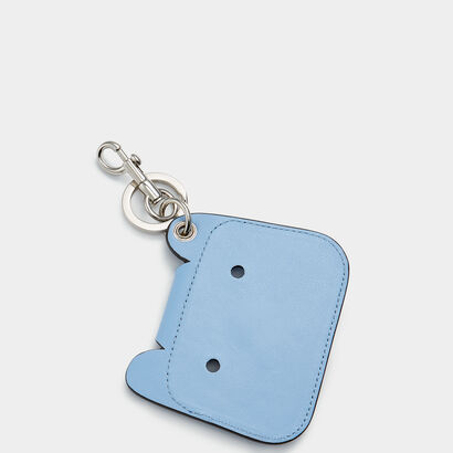 Husky Key Ring by Anya Hindmarch
