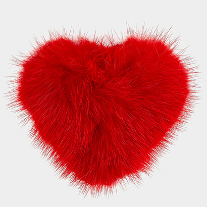 Heart Fur Sticker in {variationvalue} from Anya Hindmarch