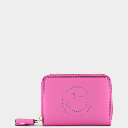 Small Zip-Round Wallet by Anya Hindmarch