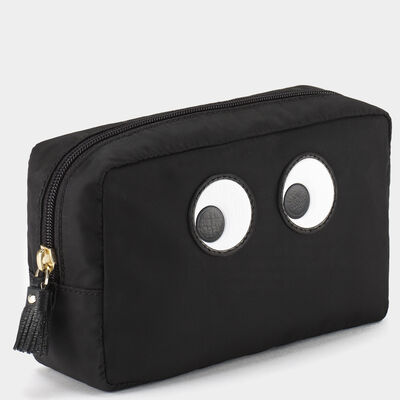 Eyes Make Up Pouch by Anya Hindmarch