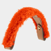 Build a Bag Shearling Handle by Anya Hindmarch
