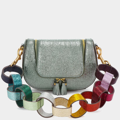 Paperchain Mini Vere Satchel by Anya Hindmarch